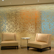 Artistic Glass Wall