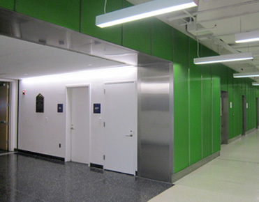 Metal Elevator Lobby Cladding