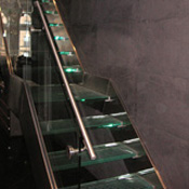 Laminated Glass Staircase